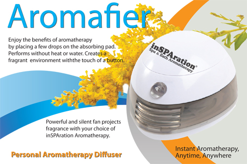 Aromafier - Aromatherapy Portable Diffuser