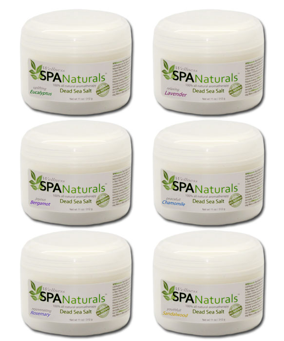 Spa Naturals Dea Sea Salt Crystals
